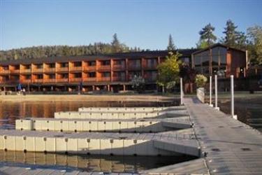 Hotel Marina Resort: Réception BIG BEAR LAKE (CA)