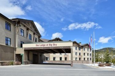 Hotel The Lodge At Big Sky: Hotel Davor-Abend/Nacht BIG SKY (MT)