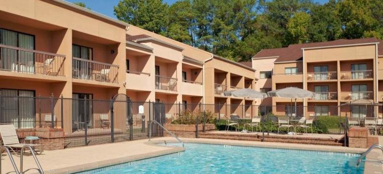 Hotel Courtyard Birmingham Homewood: Aussen Pool BIRMINGHAM (AL)
