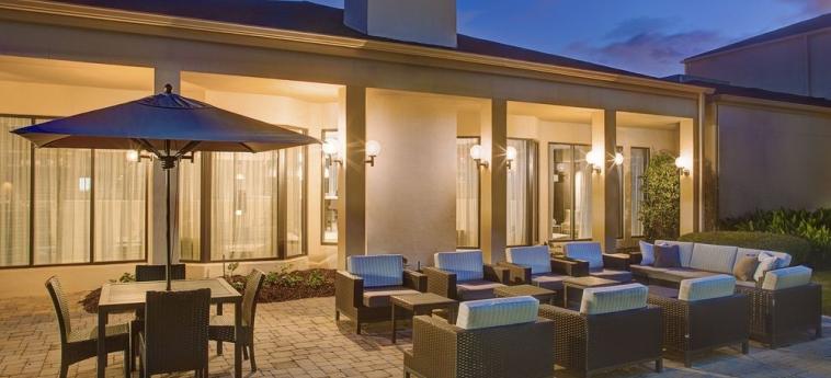 Hotel Courtyard Birmingham Homewood: Terrace/Patio BIRMINGHAM (AL)