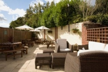 Hotel Coleshill: Veranda BIRMINGHAM