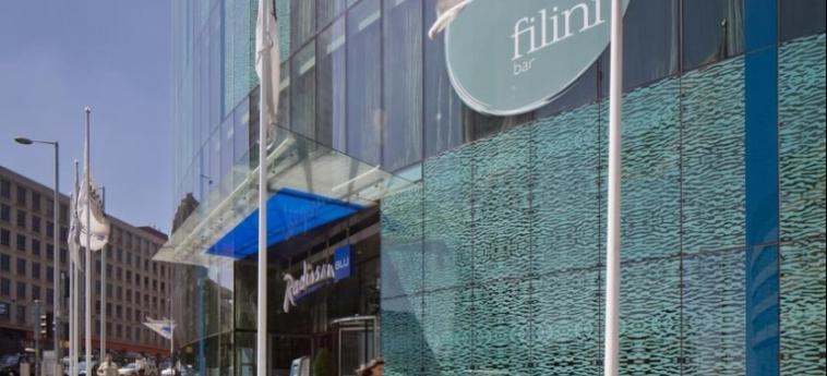 Hotel Radisson Blu Birmingham: Eingang BIRMINGHAM