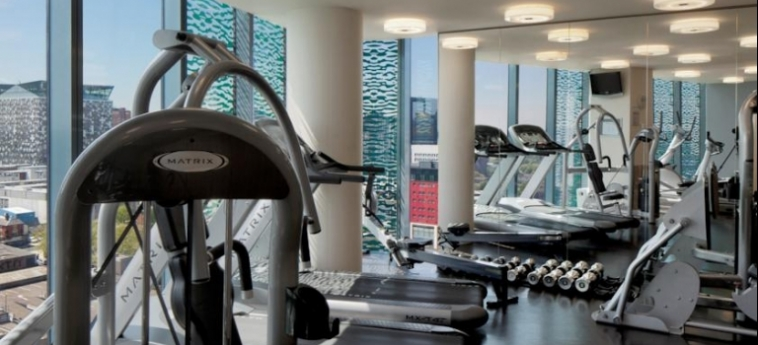 Hotel Radisson Blu Birmingham: Fitnesscenter BIRMINGHAM