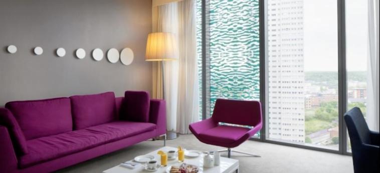 Hotel Radisson Blu Birmingham: Wohnzimmer BIRMINGHAM