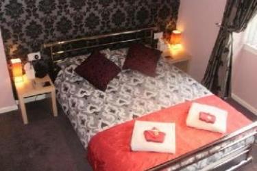 Hotel Grimscote Manor: Schlafzimmer BIRMINGHAM