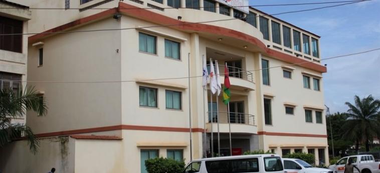 Malaika Hotel: Mappa BISSAU