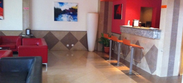 Malaika Hotel: Sala Colazione BISSAU