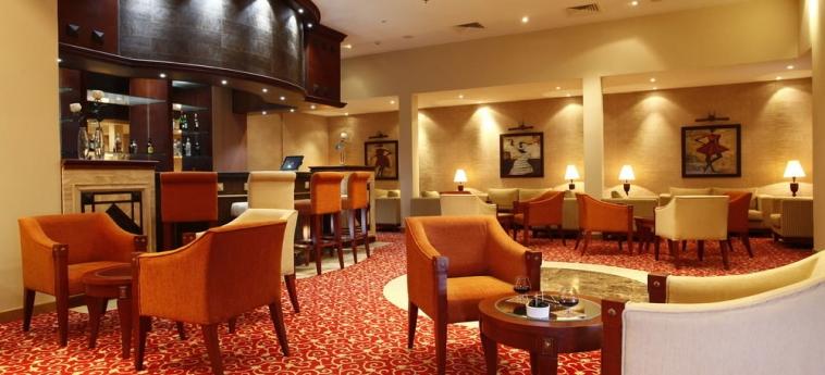 Hotel Ledger Plaza Bissau: Innen Bar BISSAU