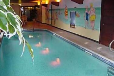 Hotel Bedford: Außenschwimmbad BLACKPOOL