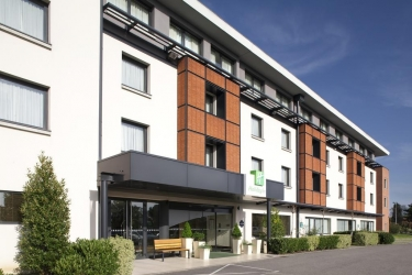 Hotel Holiday Inn Toulouse Airport: Entrée BLAGNAC