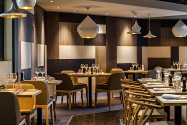 Hotel Holiday Inn Toulouse Airport: Restaurant BLAGNAC