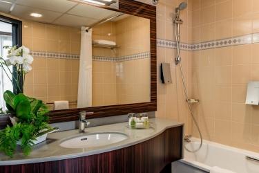 Hotel Holiday Inn Toulouse Airport: Badezimmer BLAGNAC