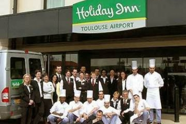 Hotel Holiday Inn Toulouse Airport: Eingang BLAGNAC