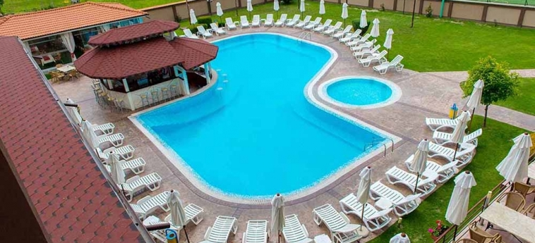 Hotel Ezeretz Spa: Aerial View BLAGOEVGRAD