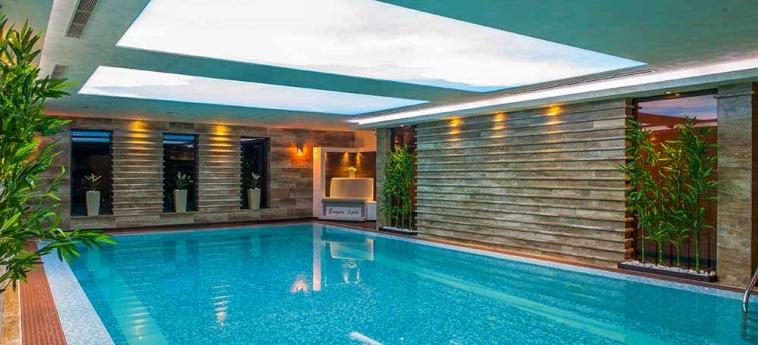 Hotel Ezeretz Spa: Indoor Swimmingpool BLAGOEVGRAD