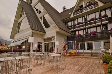 Hotel Kompas: Exterior BLED