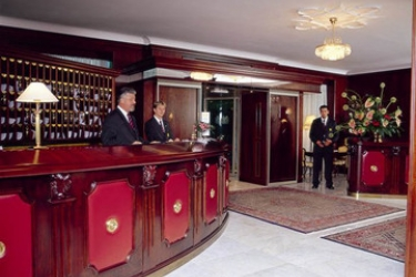Grand Hotel Toplice: Lobby BLED