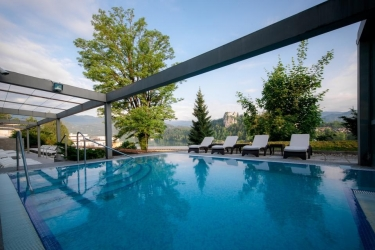 Hotel Savica: Outdoor Swimmingpool BLED