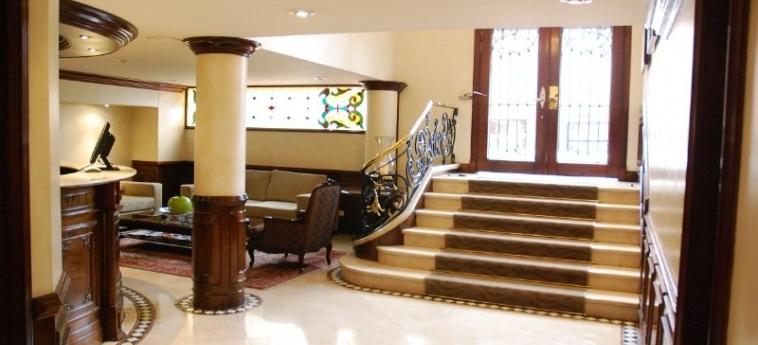 Saint Simon Hotel: Lobby BOGOTA