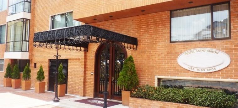 Saint Simon Hotel: Esterno BOGOTA