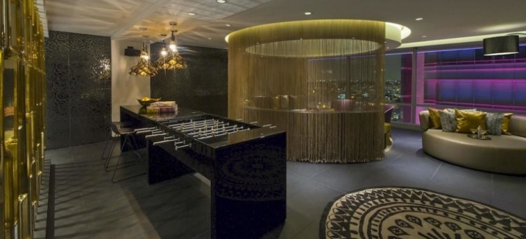 W Bogota Hotel: Posicion de l'Hotel BOGOTA