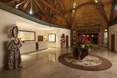 Hotel The St. Regis Bora Bora Resort: Lobby BORA BORA