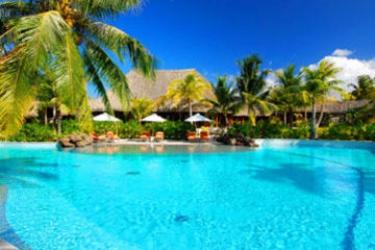 Hotel The St. Regis Bora Bora Resort: Swimming Pool BORA BORA