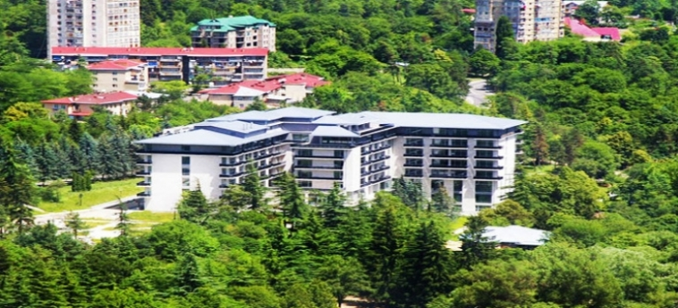Hotel Rixos Borjomi: Aussicht BORJOMI