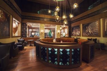 Hotel Crowne Plaza Borjomi: Bar dell'hotel BORJOMI