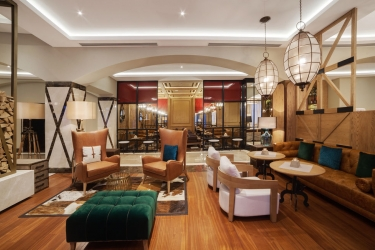 Hotel Crowne Plaza Borjomi: Interno BORJOMI