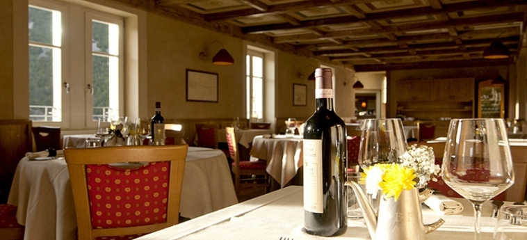 Hotel Bagni Vecchi: Restaurant BORMIO - SONDRIO