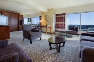 Hotel Hilton Boston Logan Airport: Camera Suite BOSTON (MA)