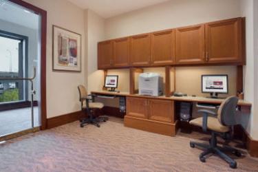 Hotel Hilton Boston Logan Airport: Centro Affari BOSTON (MA)