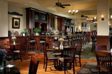 Hotel Hilton Boston Logan Airport: Lounge Bar BOSTON (MA)