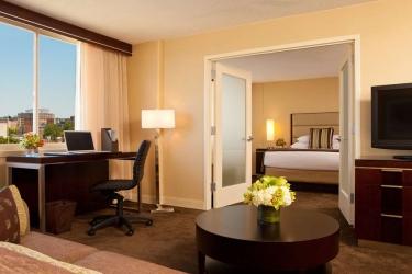 Hotel Hyatt Regency Cambridge: Chambre Suite BOSTON (MA)