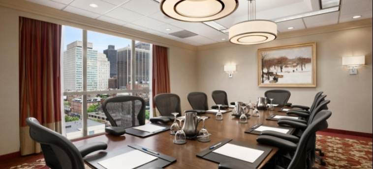 Hotel Wyndham Boston Beacon Hill: Konferenzsaal BOSTON (MA)