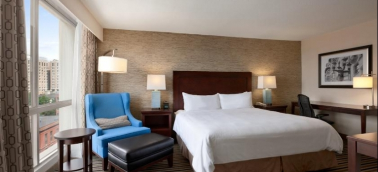 Hotel Wyndham Boston Beacon Hill: Schlafzimmer BOSTON (MA)