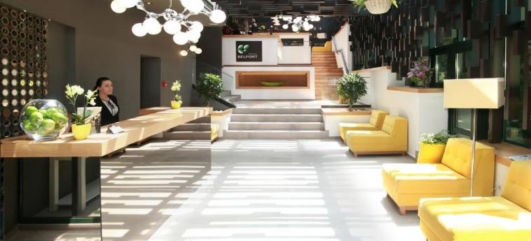 Hotel Belfort : Service salle de bain BRASOV