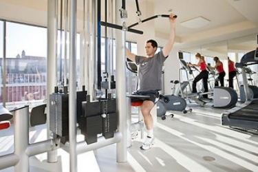 Falkensteiner Hotel Bratislava: Salle de Gym BRATISLAVA