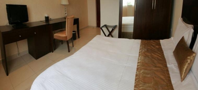 Mikhael's Hotel: Lobby BRAZZAVILLE