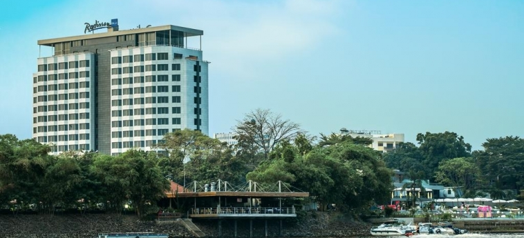 Hotel Radisson Blu M'Bamou Palace: Esterno BRAZZAVILLE