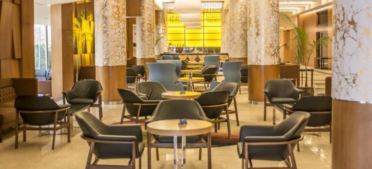 Hotel Radisson Blu M'Bamou Palace: Sala Colazione BRAZZAVILLE