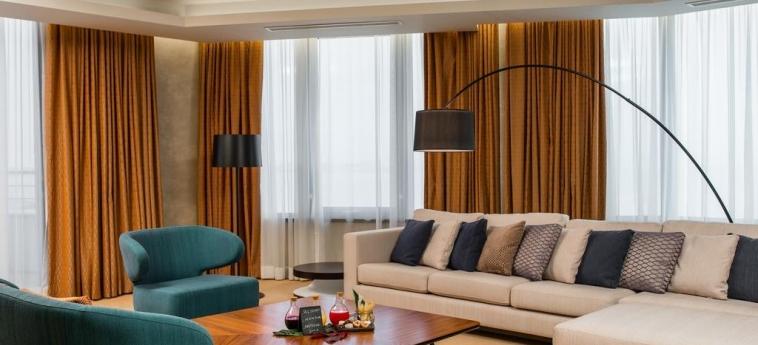 Hotel Radisson Blu M'Bamou Palace: Salotto BRAZZAVILLE