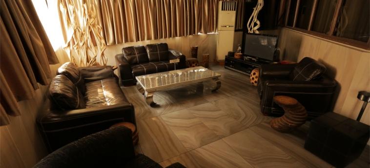 Hotel Marina Residence: Bar BRAZZAVILLE