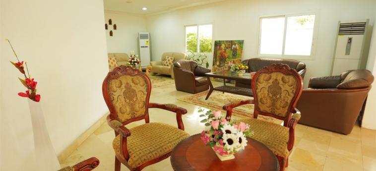 Hotel Marina Residence: Lobby BRAZZAVILLE