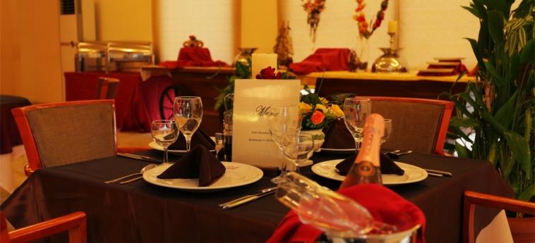 Hotel Marina Residence: Restaurant BRAZZAVILLE