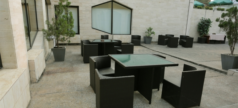Hotel Marina Residence: Terrace BRAZZAVILLE
