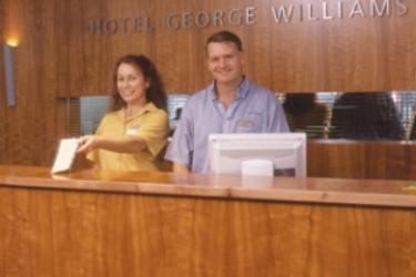 Hotel George Williams: Empfang BRISBANE - QUEENSLAND