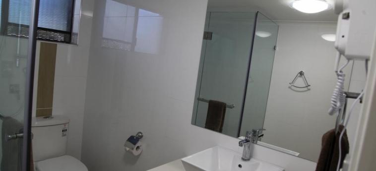 Sunnybank Star Hotel & Apartments: Badezimmer BRISBANE - QUEENSLAND