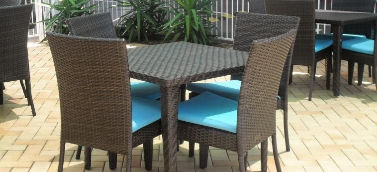 Sunnybank Star Hotel & Apartments: Terrasse BRISBANE - QUEENSLAND